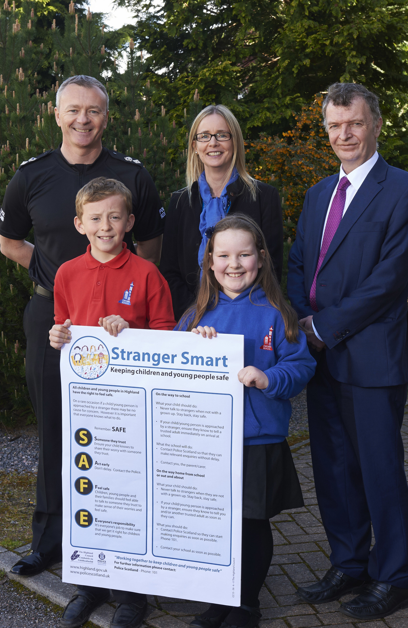 Stranger smart launch, Highland Council 20/5/15
