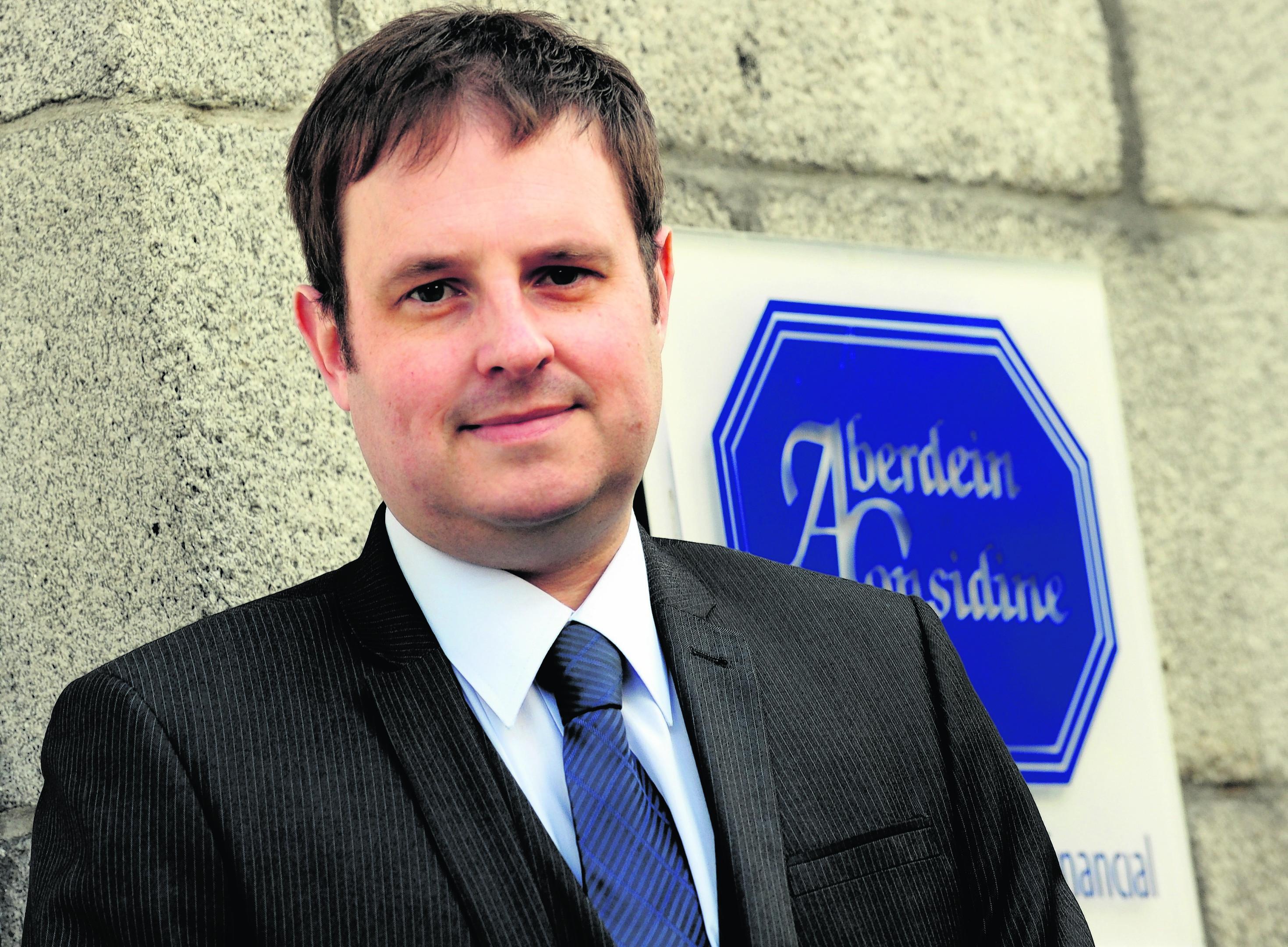 Adrian Sangster, Aberdein Considine, Bon Accord Crescent, Aberdeen. Picture by JIM IRVINE  15-10-12        .