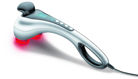 Soothe your aching muscles with the Beurer Metal Pro-Line Infrared Massager