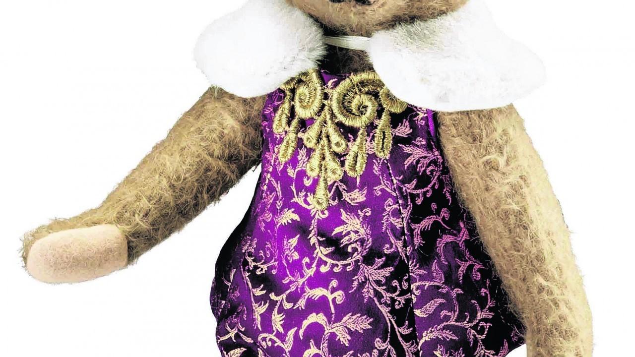 Antonia Teddy Bear, £140, Steiff