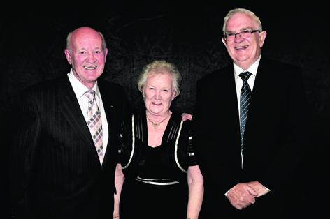 John Johnstone, Patricia Johnston and John McHattie