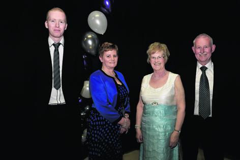 Scott Murray, Margaret Watt, Rita Cartney and Peter Anderson