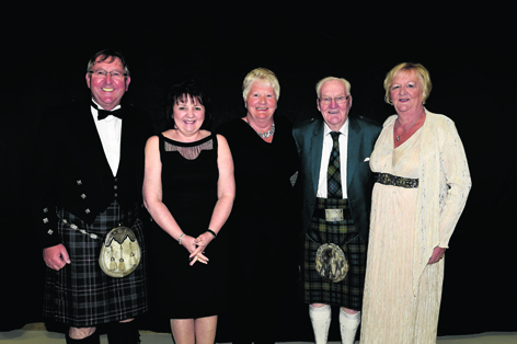 Alexander Rodger, Margaret Rodger, Patricia Masson, Peter Rodger and Helen Brown