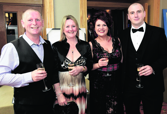 Tar and Violet MacPhee with Mary and Steven Wood