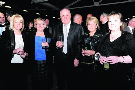 Debby Holmes, Christine Malcolm, Calum Mackay, Moira Mackay and Sonya Warren