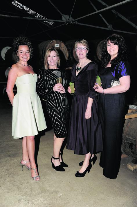 Gill Mackie, Sharon Wakefield, Hilary Hargreaves and Carole Riach
