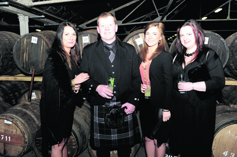 Suzy Clark, Keith Brian, Charlotte Brown and Laura Thomson