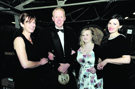 Juliette Buchan, Ian Chapman, Rebecca Wood and Kirsty Saville