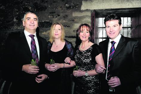 Alistair McMillan, Kirsty McMillan, Gwen Reid and Phil Reid