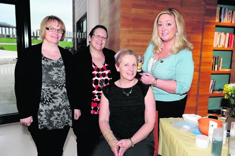 Angela Blake, Christine Lewis, Gail Thomson and Eileen Holmes