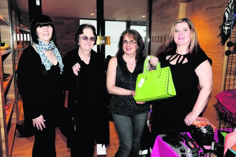 Michelle Fraser, Jenny Fraser, Elaine Scott and Teresa Connor