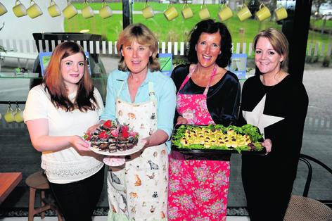 Gemma Tyler, Cathy Ward, Dawn Barrack and Kim Clark