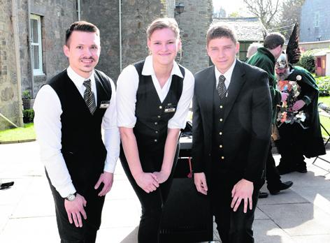 Jack Mazurek, Dana Kolesova and Ramunas  Labazinas