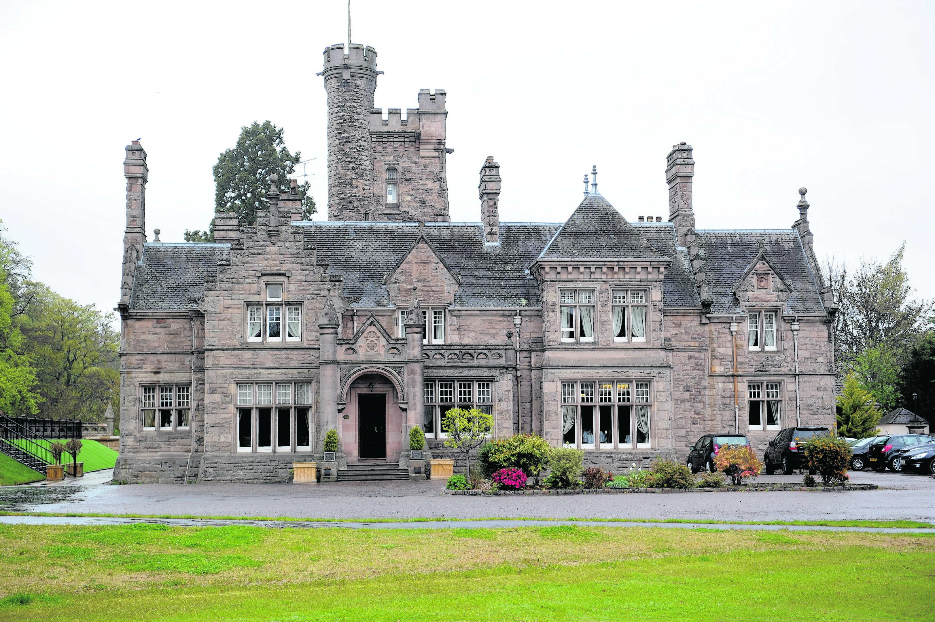 The Mansion House Hotel, Elgin.