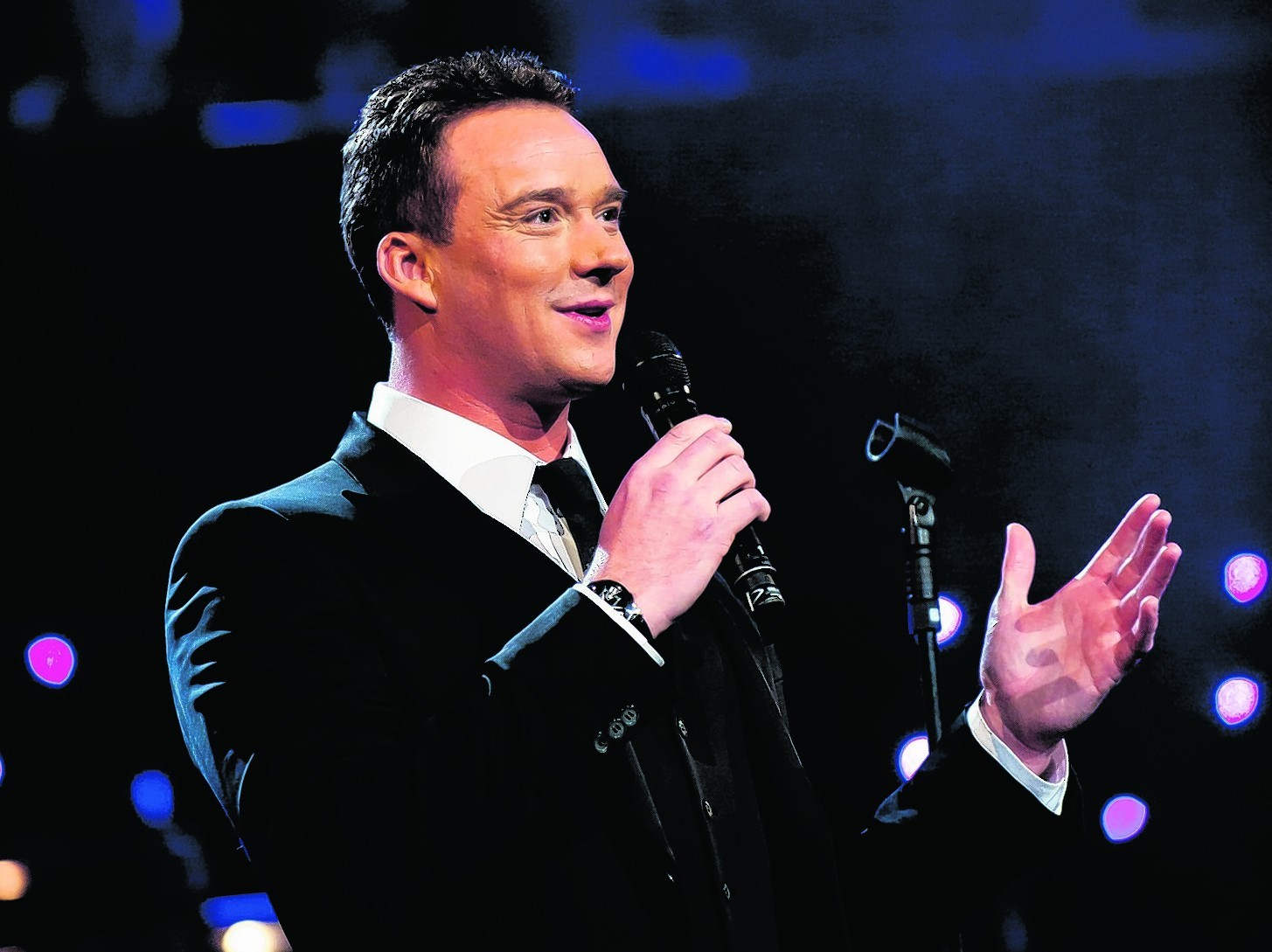 Russell Watson will play the Voice of God in Heaven on Earth at the AECC.