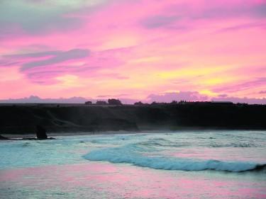 Sunset over Cullen