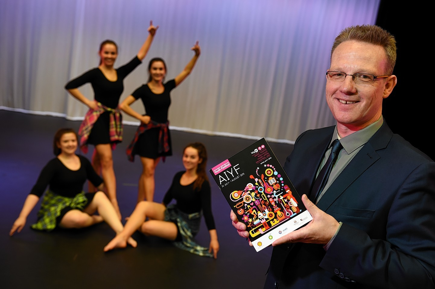 Aberdeen International Youth Festival programme launch.  Picture by KENNY ELRICK