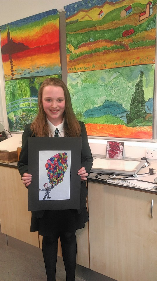 Cults Academy pupil Alice Shand