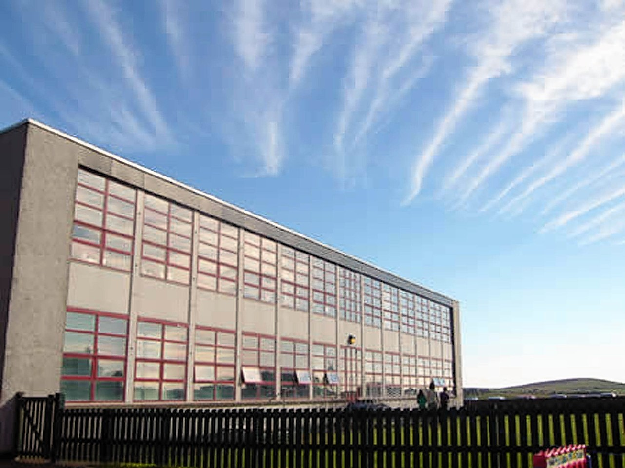 Baltasound Junior High School on the Shetland island of Unst