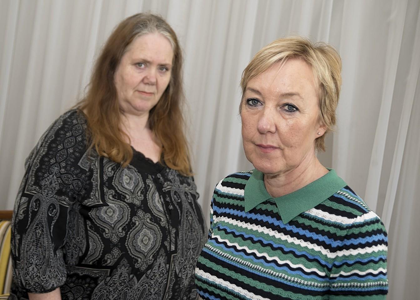 Councillor Lesley Dunbar & Bernadette Oxley, head of Children's Social Work