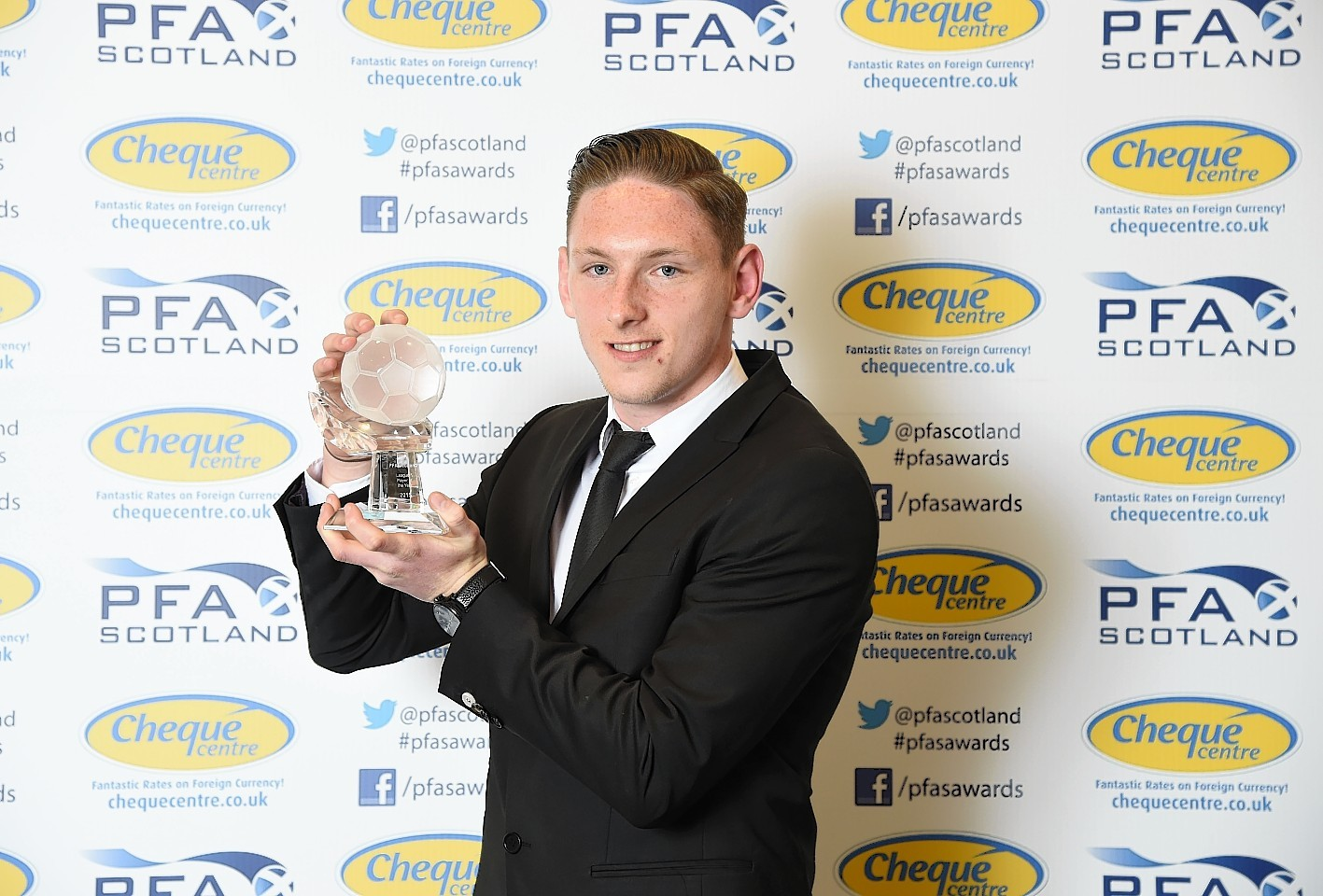 McManus was named Scottish League One player of the year last season
