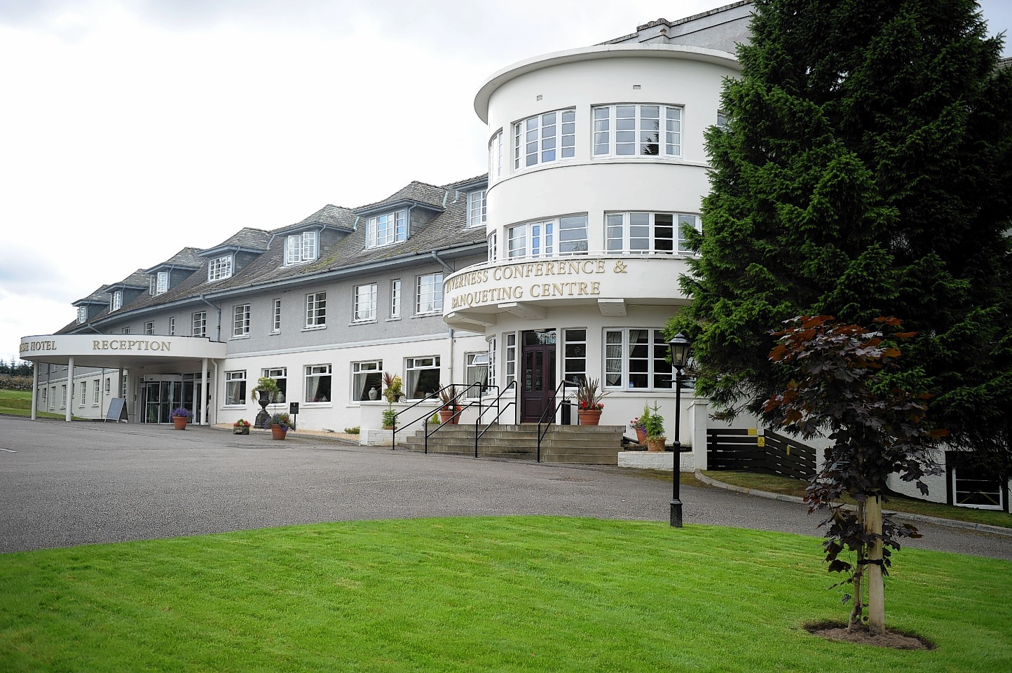 The alleged incident took place near the Drumossie Hotel