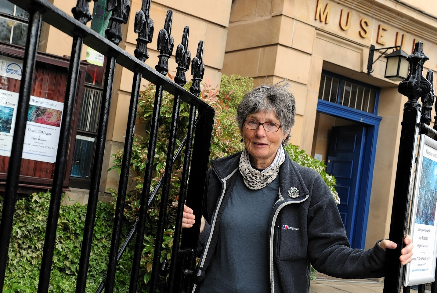 Janet Trythall, vice-president of Moray Society