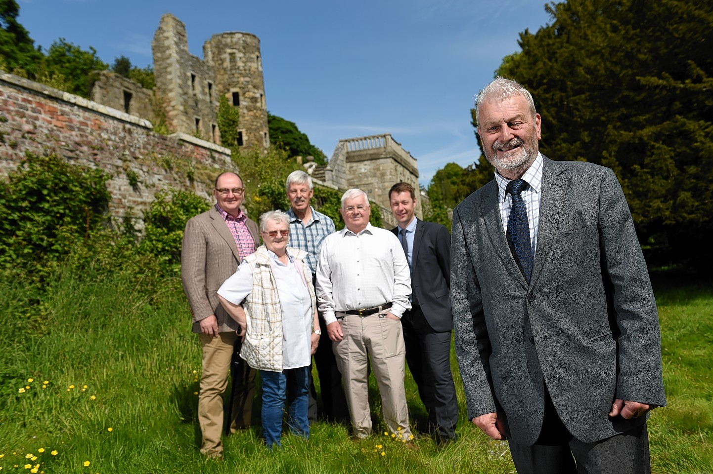 Ellon Castle Gardens has been handed over to the community