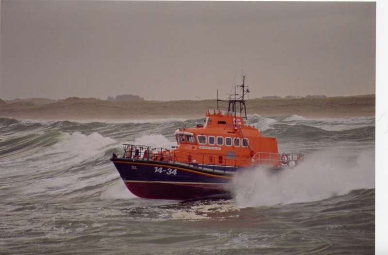 Fraserburgh lifeboat was called out yesterday afternoon.