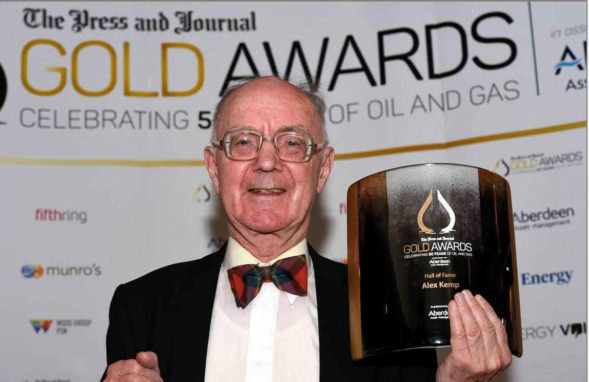 Last year Professor Alex Kemp became the first inductee into the Gold Awards Hall of Fame.