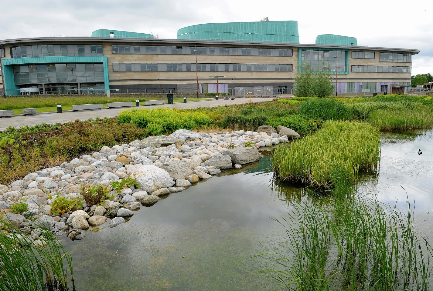 The Inverness College UHI building