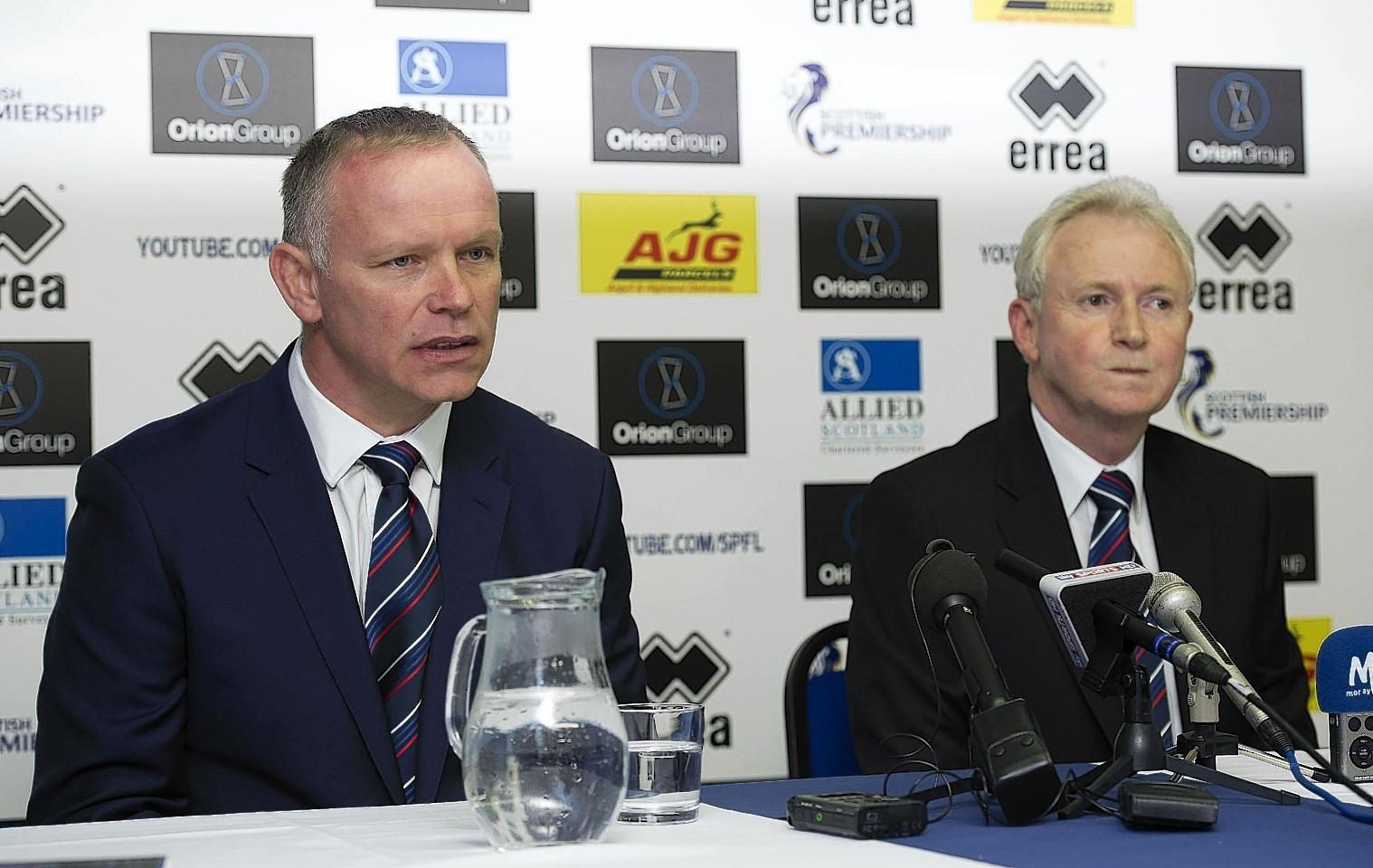 John Hughes and Kenny Cameron