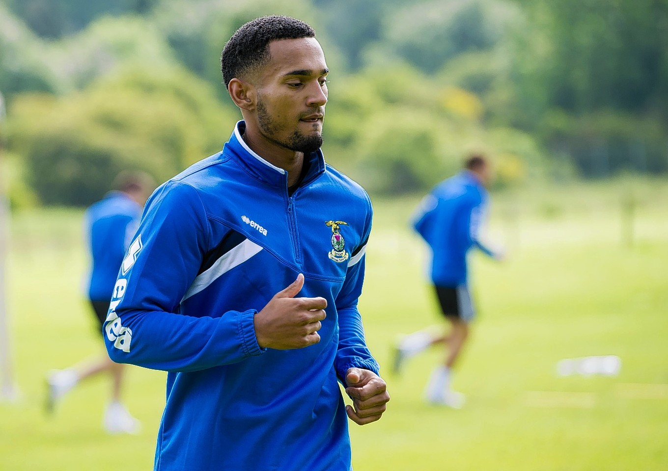 Forward Jordan Roberts is determined to play in Caley Thistle's Europa League tie against FC Astra.