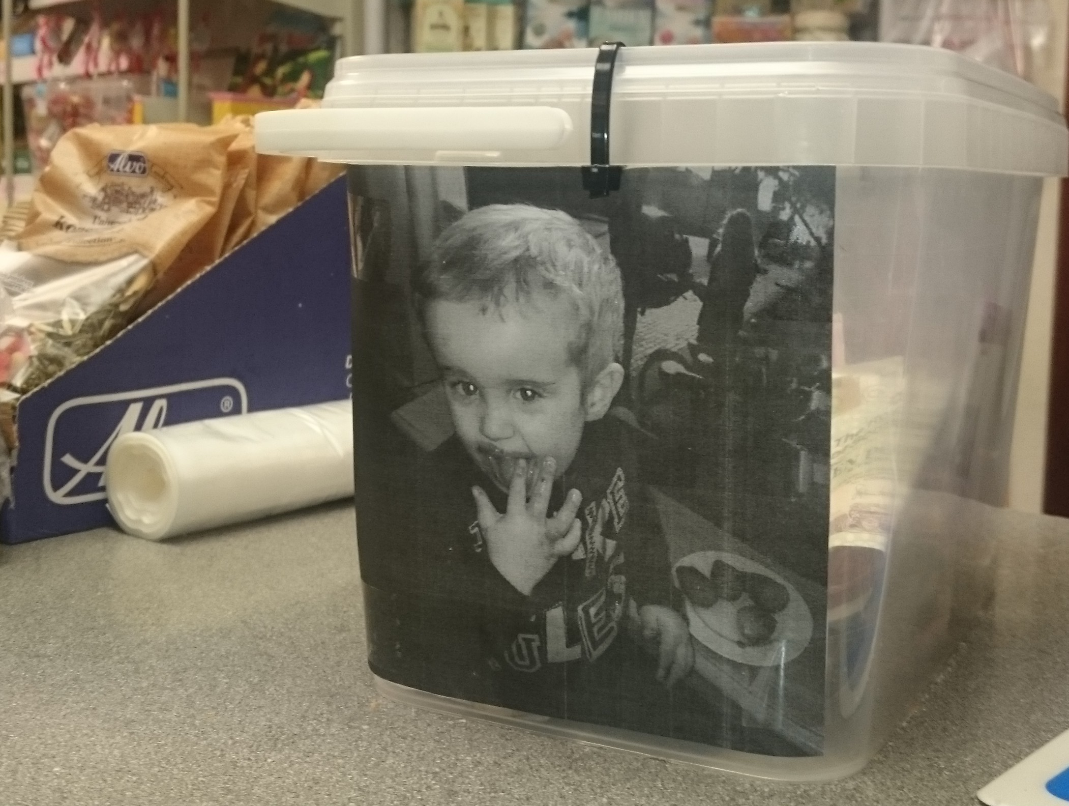 Kyle Strachan collection box