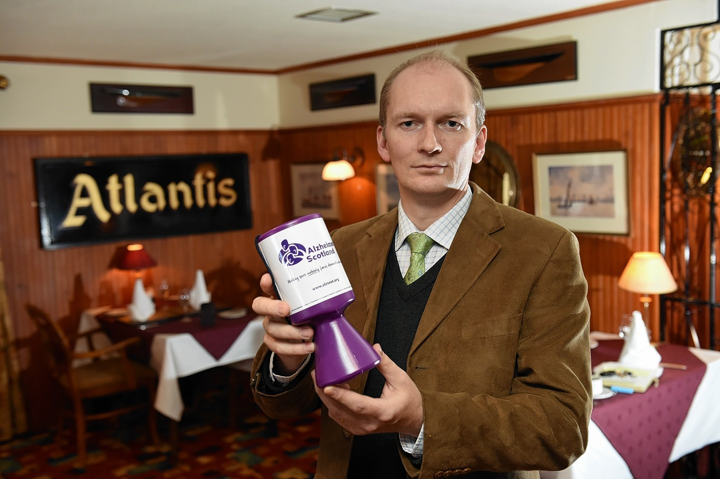 Mariner Hotel owner Mike Edwards is leading the fundraising efforts