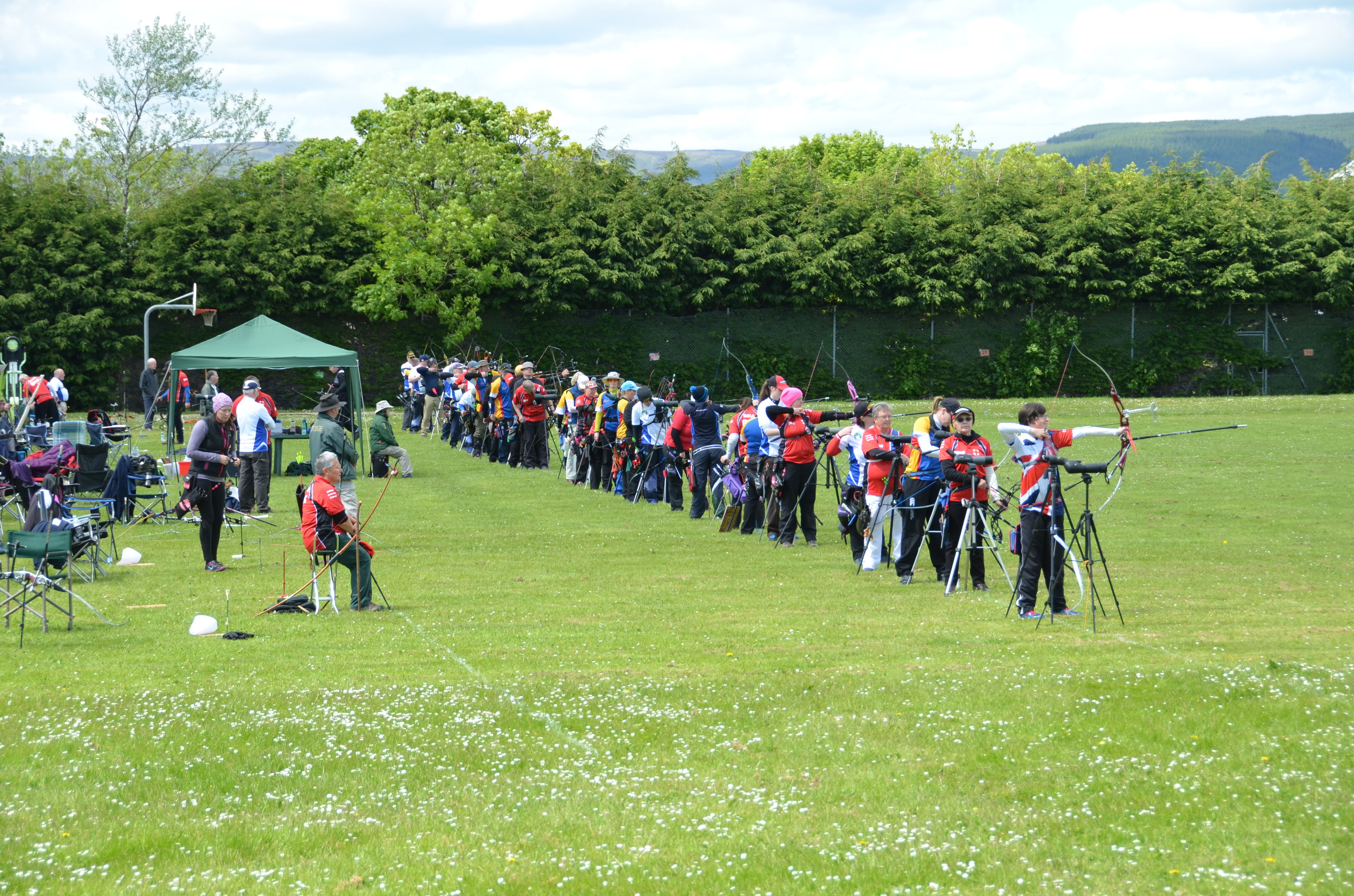Mearns Archers fear for the future of their grounds at the old Mearns Academy building