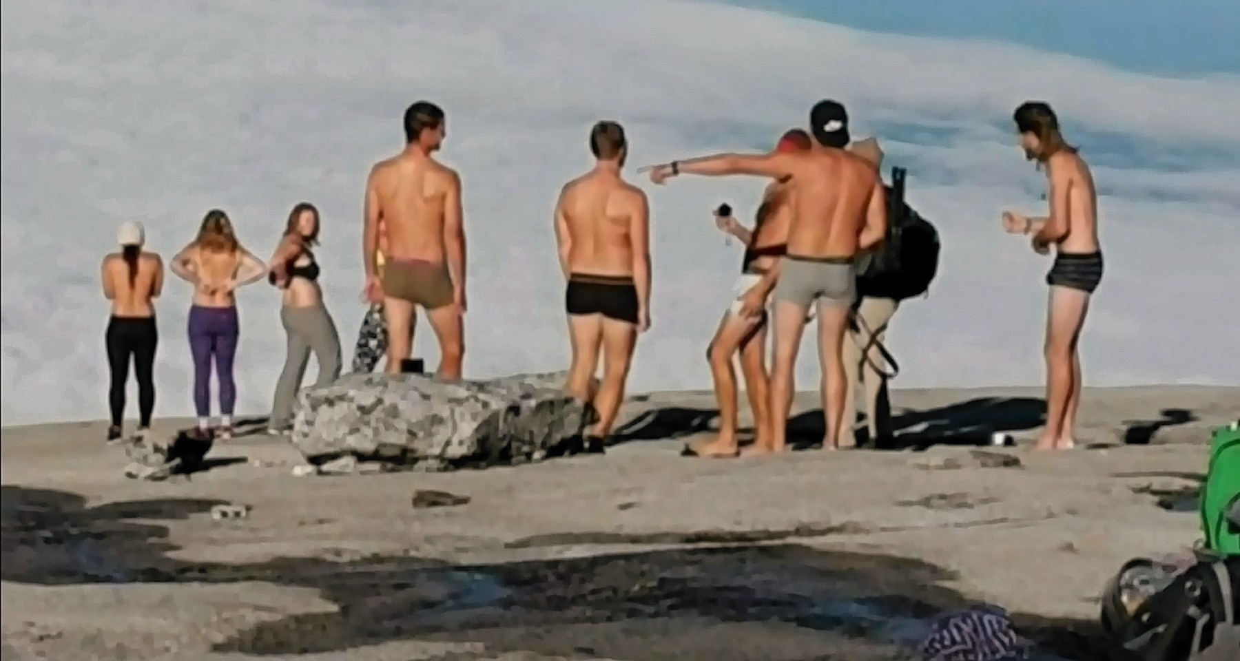 Tourists detained in Malaysia after stripping naked on