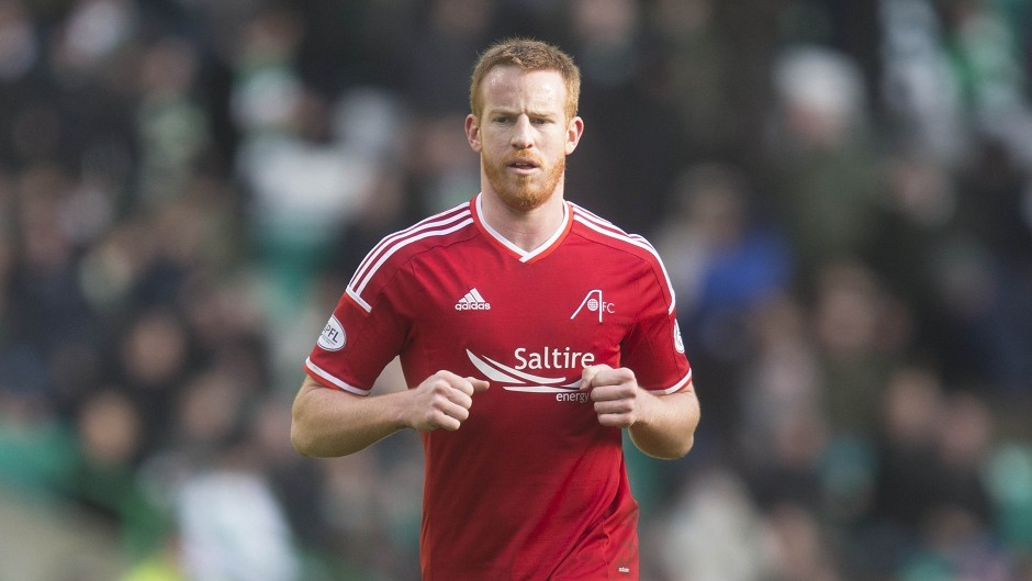 Adam Rooney's goal made the difference for Aberdeen