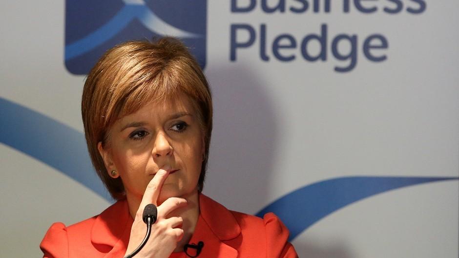 Nicola Sturgeon rejected Willie Rennie's assertion