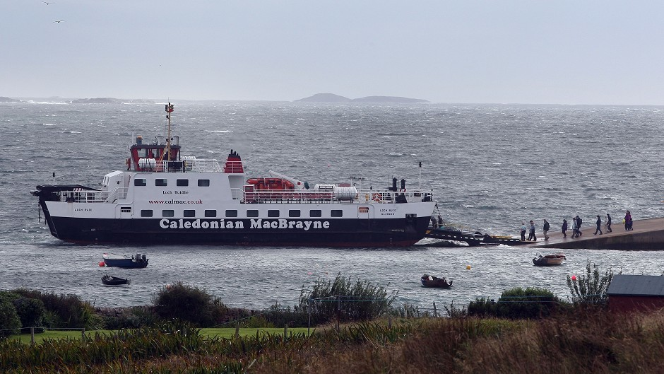 CalMac is trying to get services back to normal