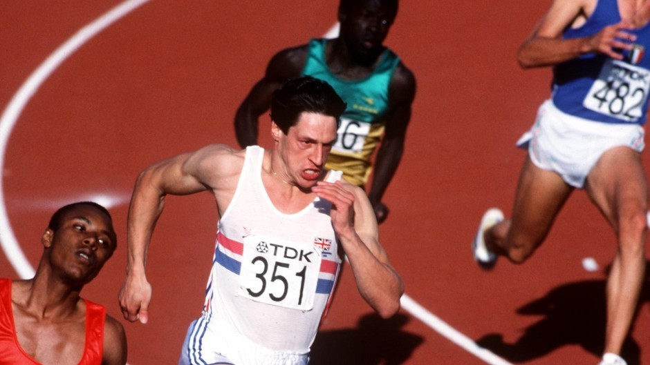 Allan Wells won gold for Great Britain in the 100m during the 1980 Olympics