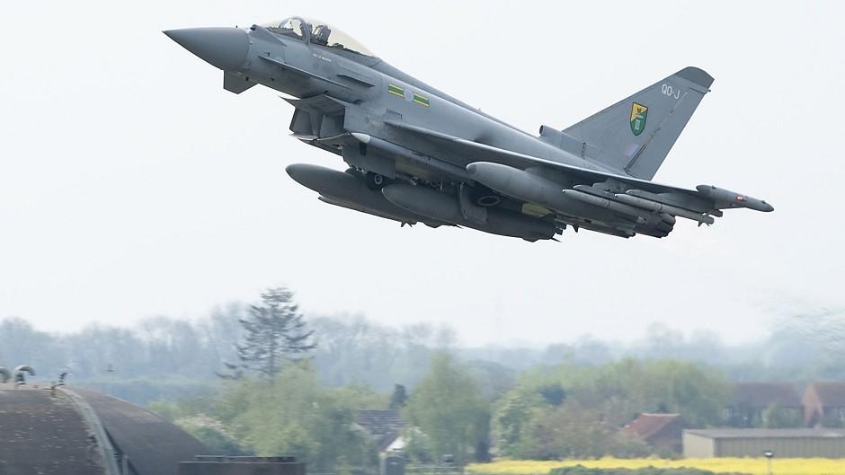 RAF typhoon.