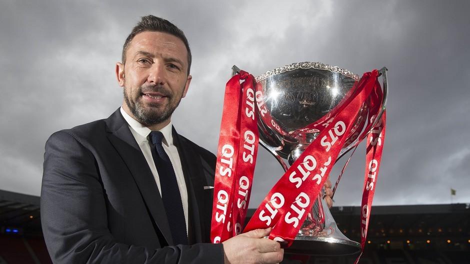 Derek McInnes is targeting further trophies with Aberdeen