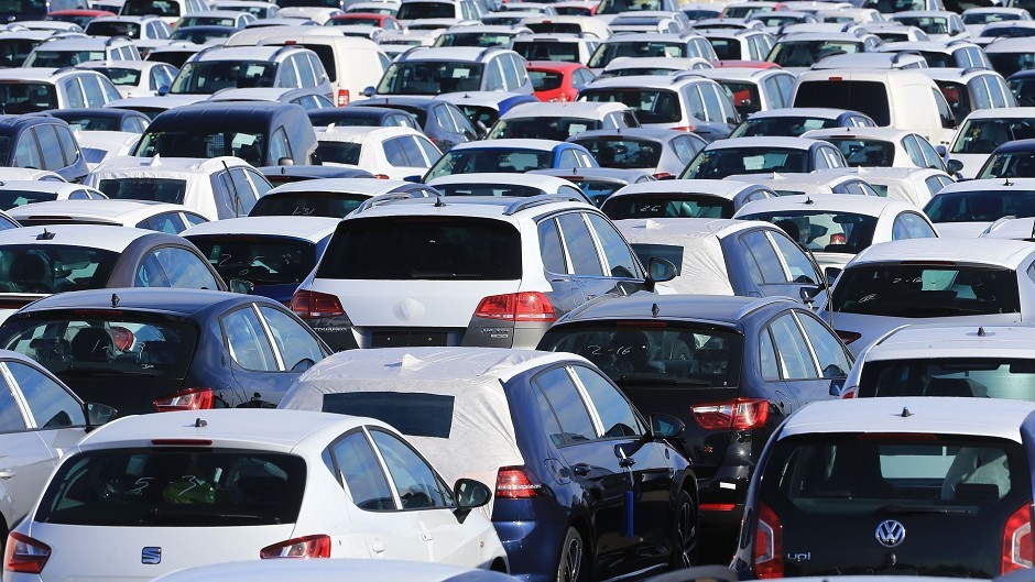 New car sales were down by more than 10% in Grampian