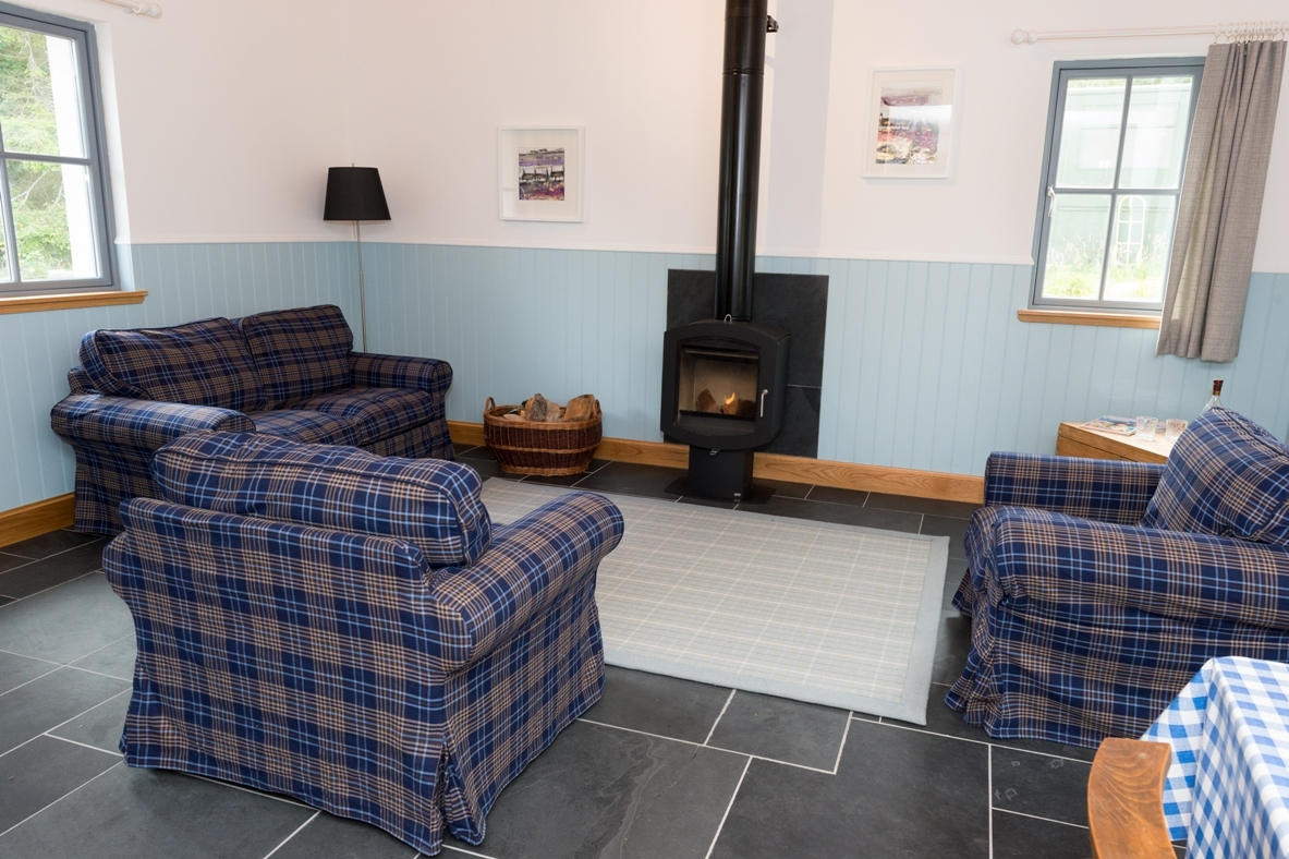 Pluscarden Crofts sitting room image