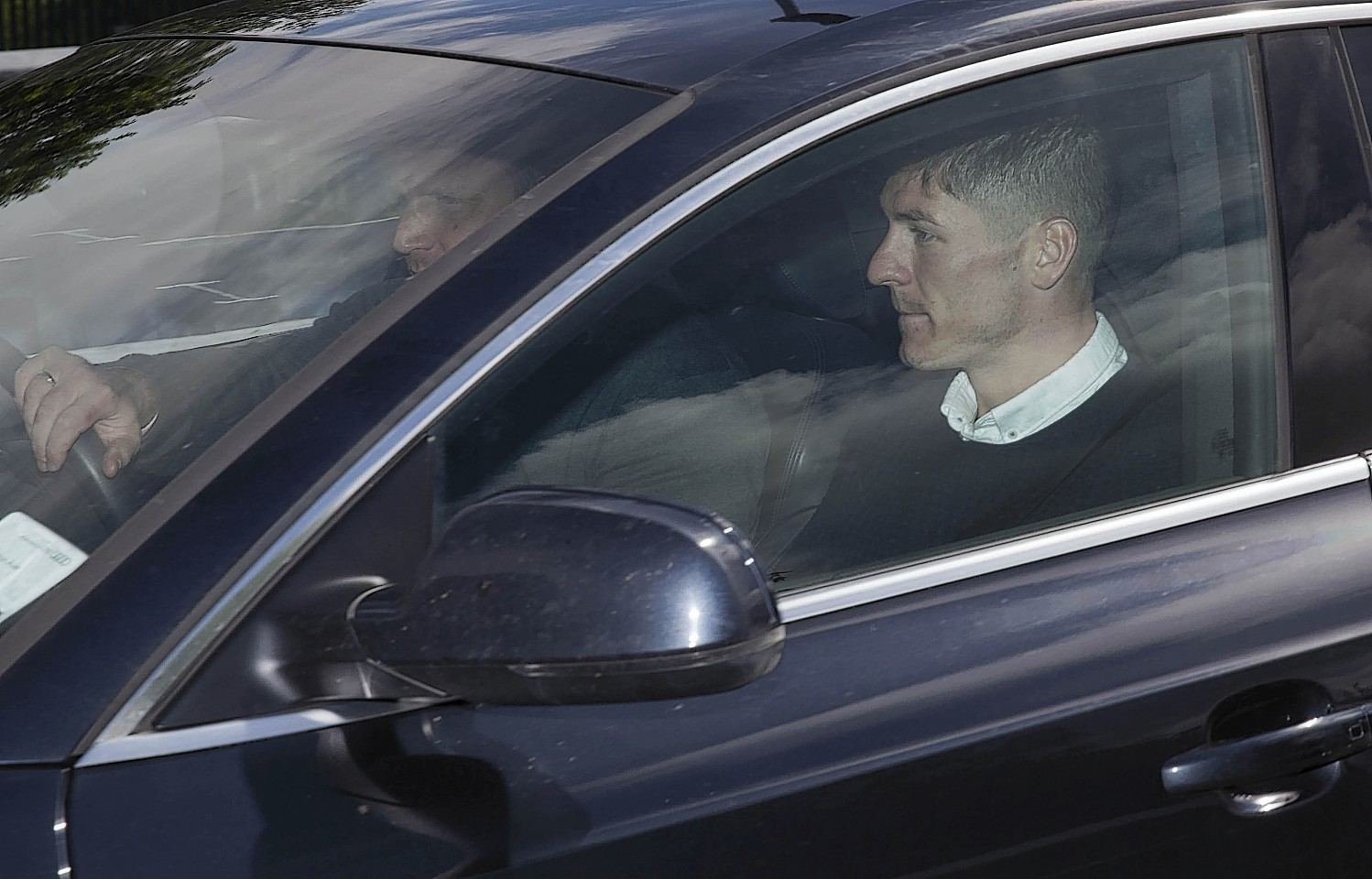 Kiernan arrives at Murray Park as he completes his move from Wigan