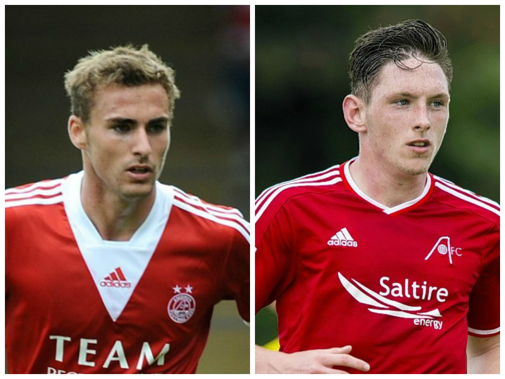 The former Dons duo are now club rivals