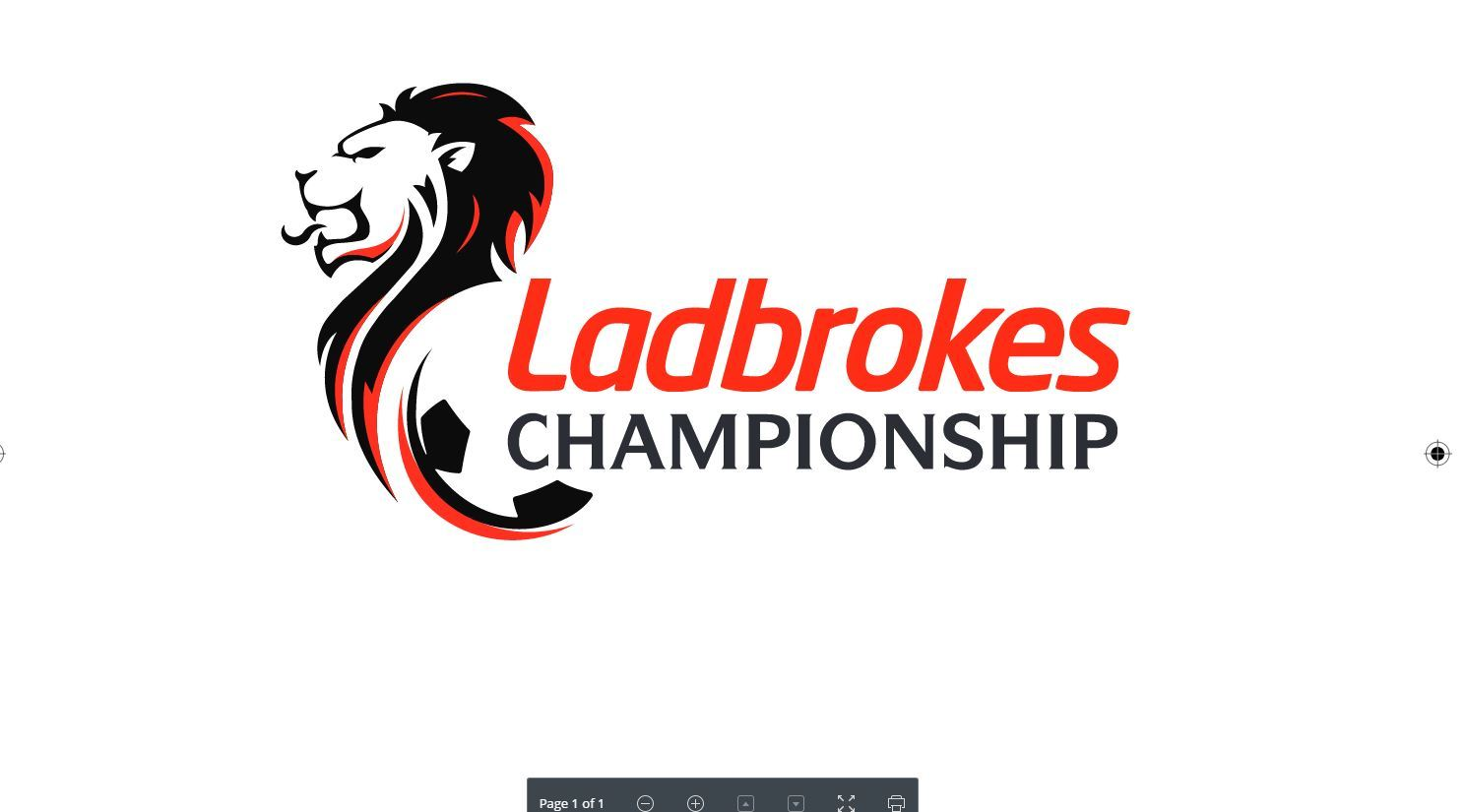 Championship fixtures have been announced