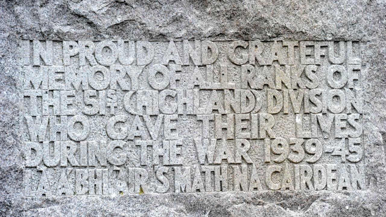 St Valery-En-Caux Fetes 51st Highland Division.