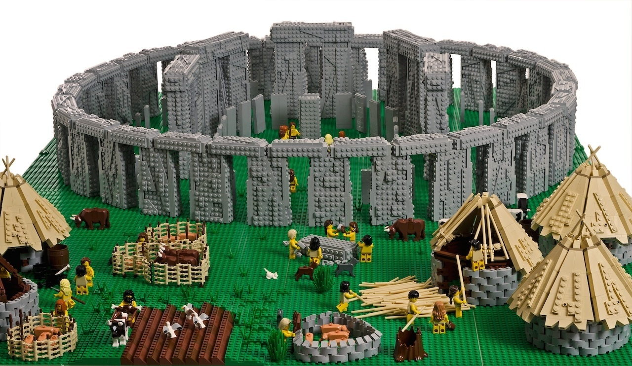 The Lego Stonehenge will go on show in Inverness